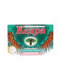 "Toilet soap ""Kedra"" with honey, milk and oil of siberian cedar 80 g"