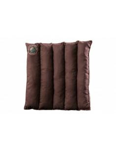 Cedar pillow-seat with cedar cone leaves 40 x 40