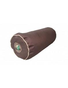 Cedar pillow-roller with cedar cone leaves