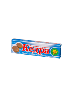 Kedra chewing gum cedar-larch resin 4 pcs