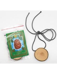 Cedar Pine Wood Pendant